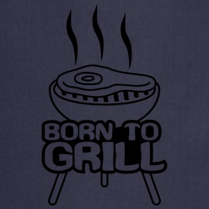 Born To Grill Camisetas - Delantal de cocina