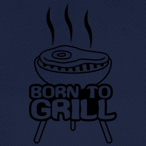 Born To Grill T-shirts - Basebollkeps