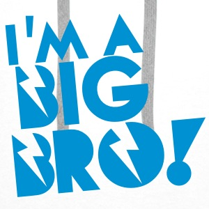 I'm a BIG BRO (Brother) Accessories - Men's Premium Hoodie