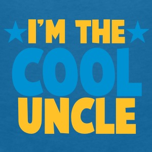 I'm the COOL uncle! with stars Accessories - Women's V-Neck T-Shirt