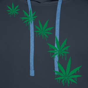 Weed Graffiti Style T-shirts - Herre Premium hættetrøje