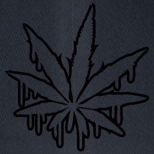 Weed Graffiti Design T-shirts - Flexfit basebollkeps