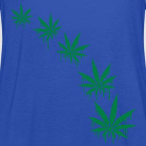 Weed Graffiti Style T-Shirts - Women's Tank Top by Bella