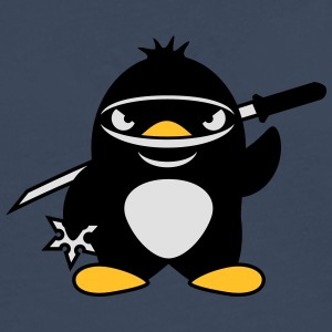 Ninja Penguin Tee shirts - T-shirt manches longues Premium Homme