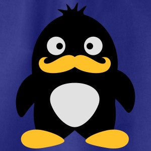 Mustache Penguin T-Shirts - Drawstring Bag