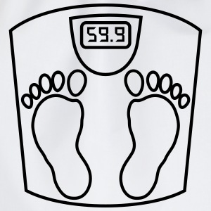 weighing _scales_ person_2_b1 Shirts - Drawstring Bag