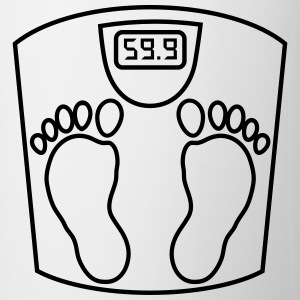 weighing _scales_ person_2_b1 Shirts - Mug