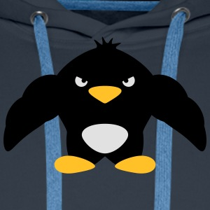 Muscle Penguin T-shirts - Mannen Premium hoodie