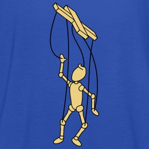 Marionette Puppet T-Shirts - Women's Tank Top by Bella