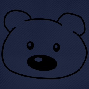 Bear Head T-shirts - Basebollkeps