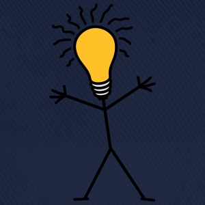 Light Bulb Man T-Shirts - Baseballkappe