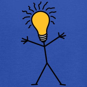 Light Bulb Man T-shirts - Dame tanktop fra Bella