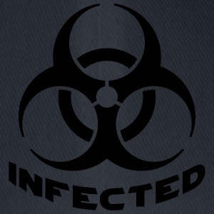 Infected Biohazard T-Shirts - Flexfit Baseballkappe