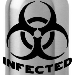 Infected Biohazard T-Shirts - Trinkflasche