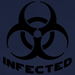 Infected Biohazard T-shirts - Baseballcap