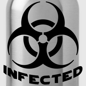 Infected Biohazard T-shirts - Drinkfles