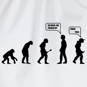 Swag Yolo Evolution T-Shirts - Turnbeutel