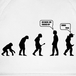 Swag Yolo Evolution T-Shirts - Baseball Cap