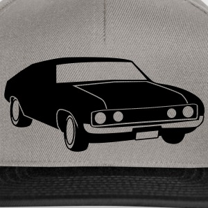 old vintage retro car Bags & backpacks - Snapback Cap
