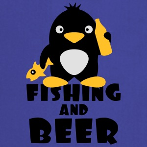 Fishing And Beer Penguin T-paidat - Esiliina