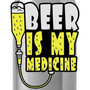 Beer Is My Medicine T-Shirts - Trinkflasche