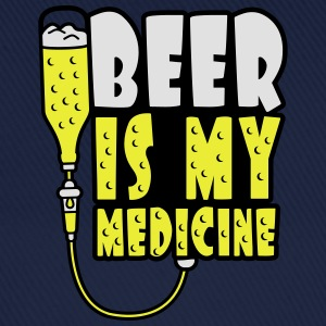 Beer Is My Medicine Magliette - Cappello con visiera