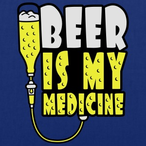Beer Is My Medicine T-shirts - Tas van stof