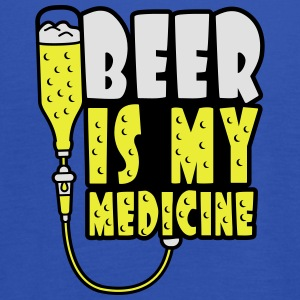 Beer Is My Medicine T-shirts - Tanktopp dam från Bella