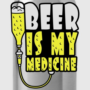 Beer Is My Medicine T-Shirts - Water Bottle