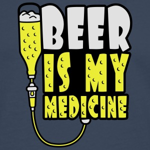 Beer Is My Medicine T-Shirts - Men's Premium Longsleeve Shirt