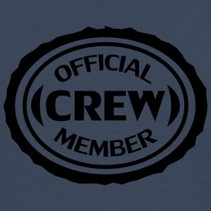 Official Crew Member Tee shirts - T-shirt manches longues Premium Homme