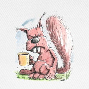 Monday morning squirrel T-Shirts - Baseball Cap