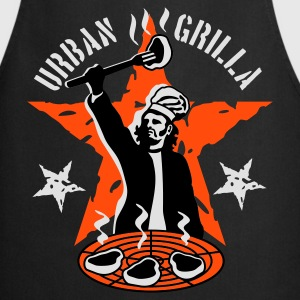 Urban grilla - funny BBQ T-shirt - Cooking Apron
