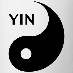 Yin looking for Yang, Part 1, tao, dualities Sudaderas - Taza