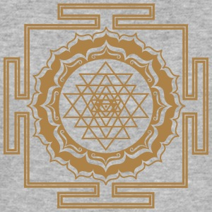 Shri Yantra - Cosmic Energy Conductor Hoodies & Sweatshirts - Men's Slim Fit T-Shirt
