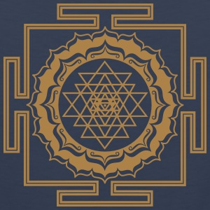 Shri Yantra - Cosmic Energy Conductor Hoodies & Sweatshirts - Men's Premium Tank Top