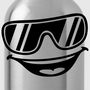 Cool Face T-Shirts - Trinkflasche