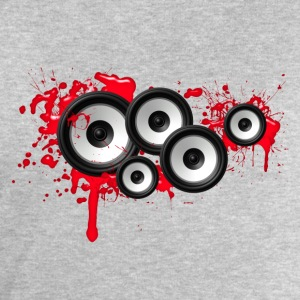 Music in the blood, speakers, sound system, audio Tee shirts - Sweat-shirt Homme Stanley & Stella