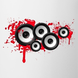 Music in the blood, speakers, sound system, audio T-Shirts - Mug