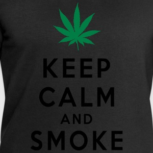Keep Calm and Smoke Magliette - Felpa da uomo di Stanley & Stella