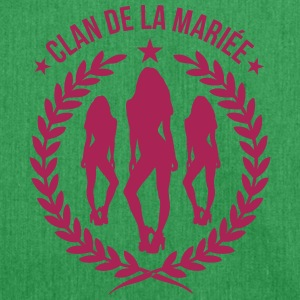 Clan de la Mariée - Shoulder Bag made from recycled material
