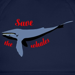 save the whales Shirts - Baseball Cap