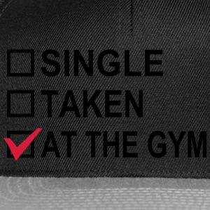 Single, Taken, At The Gym! Gensere - Snapback-caps