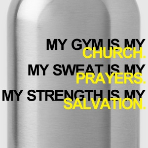 Gym is my Church Sudaderas - Cantimplora
