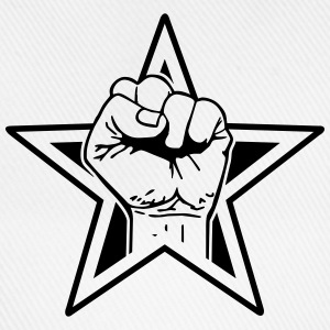 star fist T-shirts - Basebollkeps