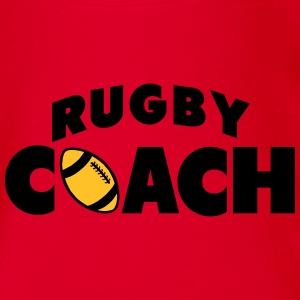 rugby coach Tee shirts - Body bébé bio manches courtes