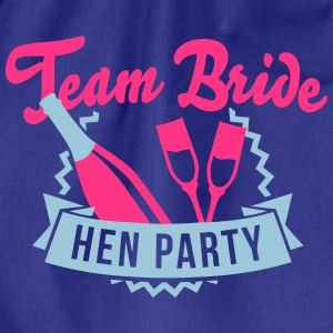 Team Bride - Hen Party T-Shirts - Turnbeutel