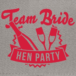 Team Bride - Hen Party T-Shirts - Snapback Cap