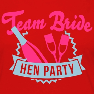 Team Bride - Hen Party T-Shirts - Frauen Premium Langarmshirt