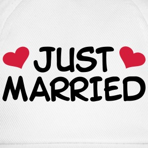 Just Married Hochzeit T-Shirts - Baseballkappe